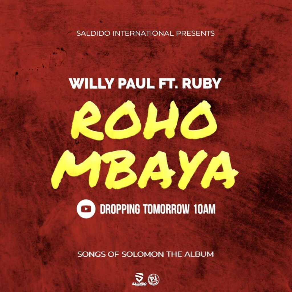 Willy Paul Roho Mbaya Lyrics
